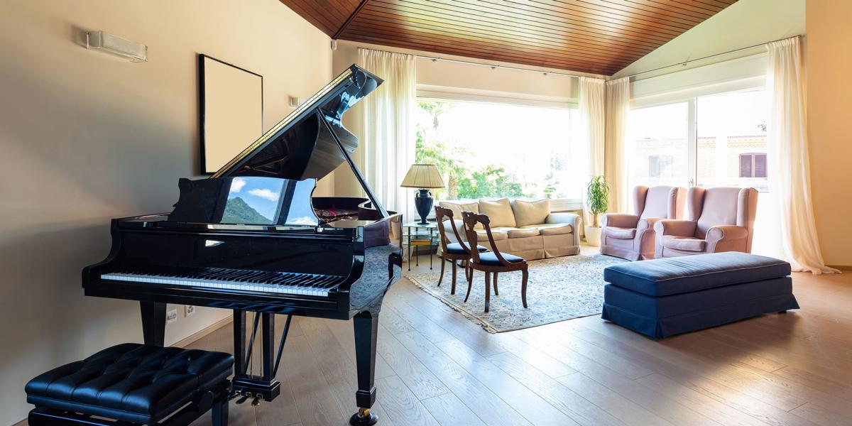 ピアノの音色が損なわれない内窓工事